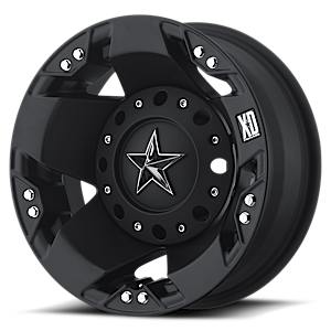 XD Wheels XD775 Rockstar Dually 8 Matte Black