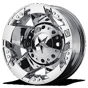 XD Wheels XD775 Rockstar Dually 8 Chrome