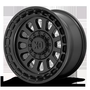 XD Wheels XD856 Omega 6 Satin Black