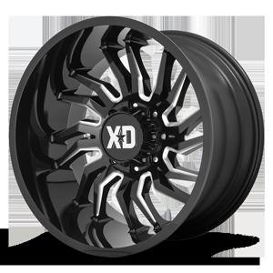 XD Wheels XD858 Tension 8 Gloss Black Milled