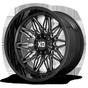 XD Wheels XD859 Gunner 6 Gloss Black Milled