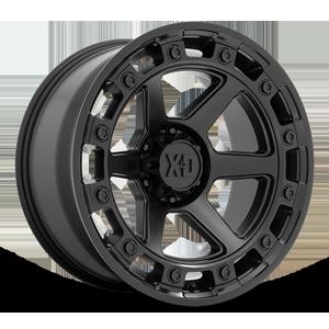XD862 Raid Satin Black 6 lug
