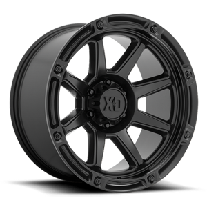 XD863 Titan Satin Black 6 lug
