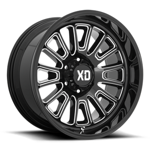 XD864 Rover Gloss Black Milled 6 lug