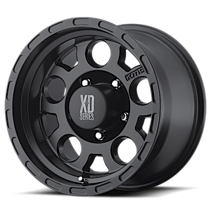 XD Wheels XD122 Enduro 5 Matte Black