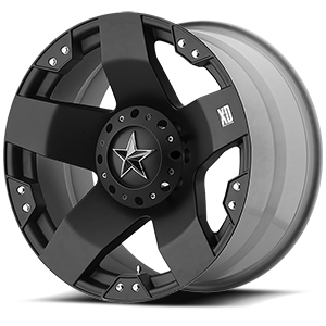 XD Wheels XD775 Rockstar 6 Matte Black