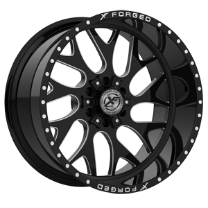 XFX-301 Black Milled 6 lug