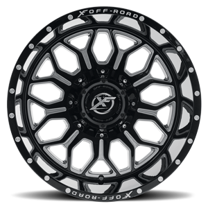 XF-227 Gloss Black Milled 8 lug