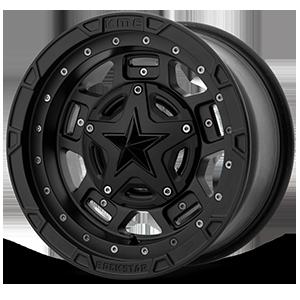 XD Wheels XS827 RS3 4 Matte Black - 14x7