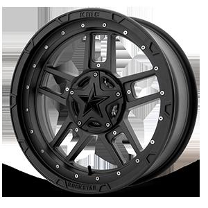 XD Wheels XS827 RS3 4 Matte Black - 20x7