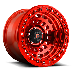 Fuel Forged Wheels Zephyr Beadlock - D100 5 Candy Red