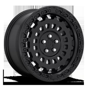 Fuel 1-Piece Wheels Zephyr - D633 [Car] 5 Matte Black