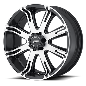 American Racing Custom Wheels AR708 Ribelle 6 Matte Black Machined