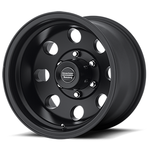 AR172 Baja Satin Black 6 lug