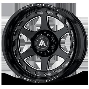 AB816 Anvil Gloss Black Milled 8 lug