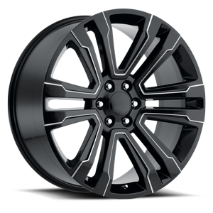 Factory Reproductions Style 72 6 Gloss Black Milled