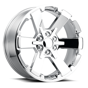 Factory Reproductions Style 45 6 Chrome