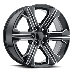 Factory Reproductions Style 47 6 Gloss Black Milled