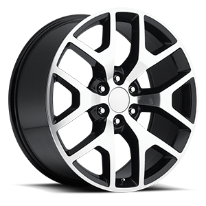 Factory Reproductions Style 44 6 Black Machined