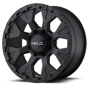 Helo Wheels HE878 8 Satin Black