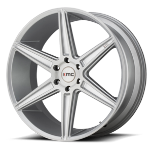 KMC Wheels KM712 Prism (Truck) 6 Brushed Silver