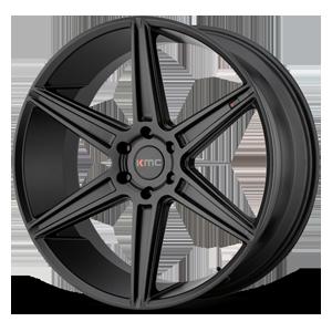 KMC Wheels KM712 Prism (Truck) 6 Satin Black
