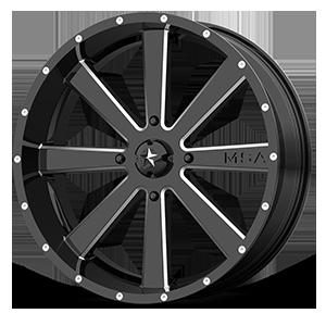 MSA Offroad Wheels M34 Flash 4 Gloss Black Milled