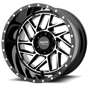 Moto Metal MO985 Breakout 6 Gloss Black Machined