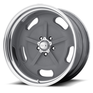 VN470 Salt Flat Special Mag Gray w/ Center Polished Barrel 5 lug