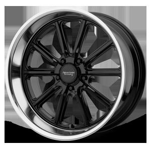 American Racing Custom Wheels VN507 Rodder 5 Gloss Black w/ Diamond Cut Lip