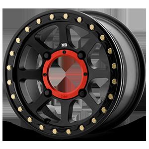 XD Wheels XS234 Addict 2 Beadlock 4 Satin Black