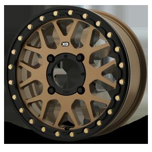 XD Wheels XS235 Grenade Beadlock 4 Satin Bronze