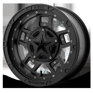 XD Wheels XS827 RS3 4 Matte Black - 16x7