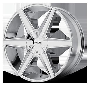 Helo Wheels HE887 6 Chrome