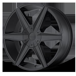 Helo Wheels HE887 6 Satin Black