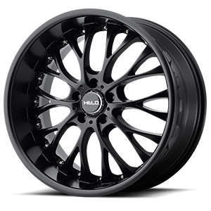 Helo Wheels HE890 5 Satin Black