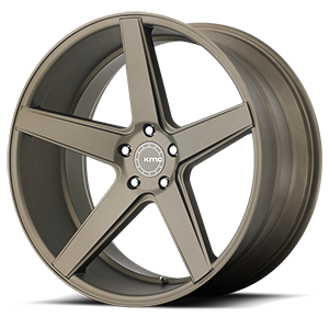 KM685 District Matte Bronze 5 lug