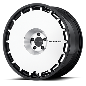 KMC Wheels KM689 Skillet 5 Satin Black Brushed Face