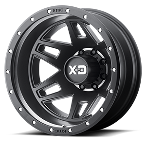 XD130 Machete Dually Satin Black 8 lug