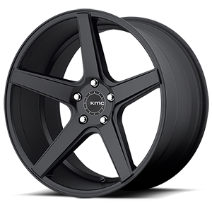 KM685 District Satin Black 5 lug