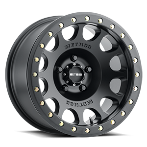 Method Race Wheels MR105 Beadlock 5 Matte Black