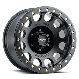 Method Race Wheels MR105 Beadlock 6 Matte Black