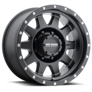 Method Race Wheels MR301 The Standard 8 Matte Black