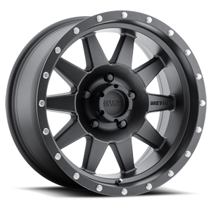 Method Race Wheels MR301 The Standard 5 Matte Black