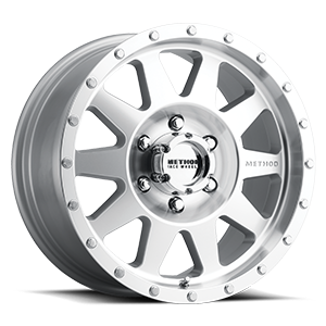 Method Race Wheels MR301 The Standard 6 Machined and Clear Coat (high offset)