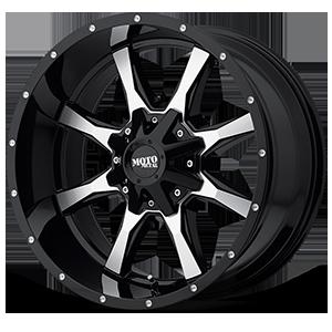 Moto Metal MO970 5 Gloss Black w/ Machined Face