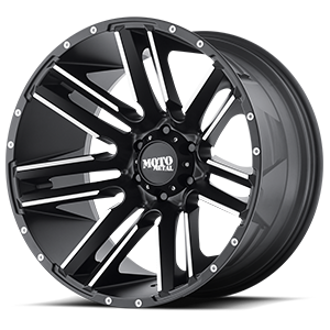 Moto Metal MO978 Razor 6 Satin Black Machined