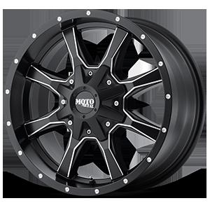 Moto Metal MO970 5 Satin Black Milled
