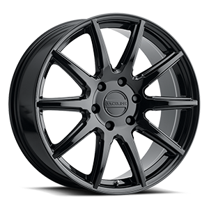 Raceline Wheels 159 Spike 6 Gloss Black