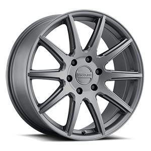 Raceline Wheels 159 Spike 6 Gunmetal